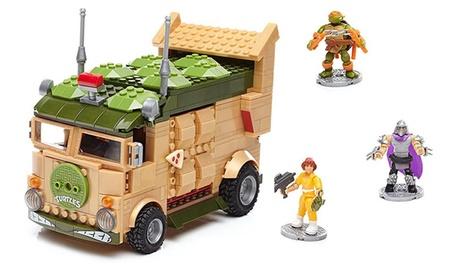 Mega Bloks Teenage Mutant Ninja Turtles Wagon Construction Set 8ce59bb6-9fa8-11e7-9ad3-00259069d868