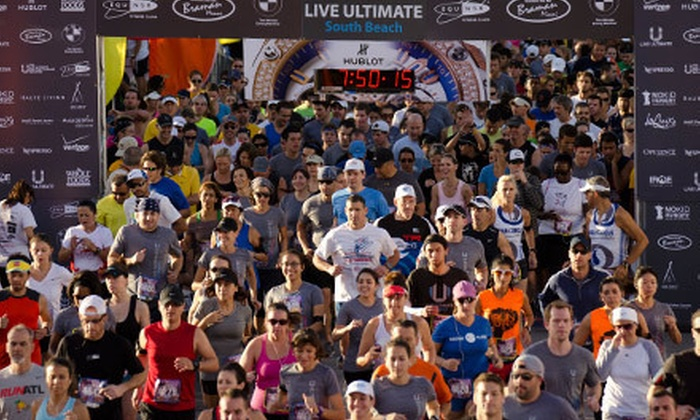 Live Ultimate RUN San Francisco - Presidio: Entry for One, Two, Three, or Four to the Live Ultimate RUN 5K Run/Walk or Quarter Marathon on June 30 (Up to 55% Off)