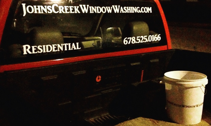 Johns Creek Window Washing - Atlanta: Three Hours of Window Cleaning from Johns Creek Window Washing (25% Off)