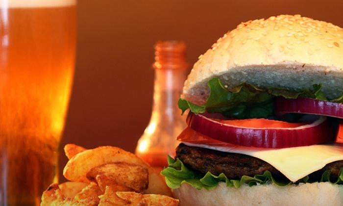 Burger Bar - Johnson City: Burgers at Burger Bar (Up to 50% Off). Two Options Available.