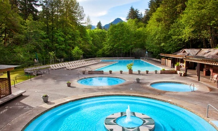 groupon daily deal - 1-Night Stay for Two at Sol Duc Hot Springs Resort in Olympic National Park, WA. Combine Up to 5 Nights.