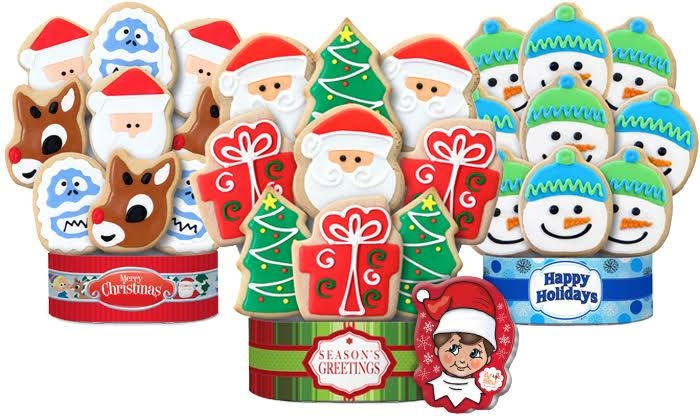 Corso's Cookies: Cookie Gifts, plus Elf on the Shelf Cookie Tin, from Corso's Cookies (Up to 55% Off). Two Options Available.