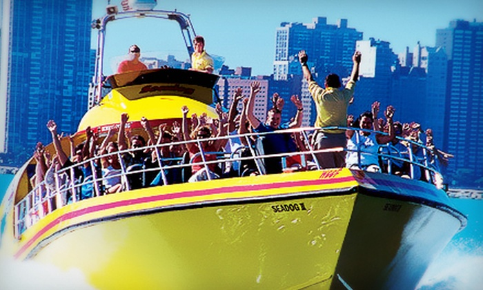 Seadog Cruises - Navy Pier: Lakefront Speedboat Tour, Thrill Ride, or Architectural Tour from Seadog Cruises (Up to 52% Off)