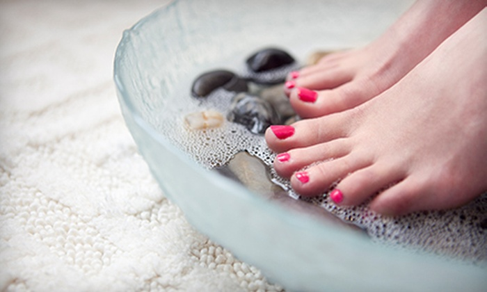 Sunshine Nails - Overton: $17 for a Deluxe Pedicure at Sunshine Nails ($35 Value)