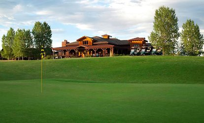 One 18-Holes for Two People, Cart, Hot Dog or Brat, and Two Draft Beers at Deer Creek <strong>Golf</strong> Club (Up to 34% Off)