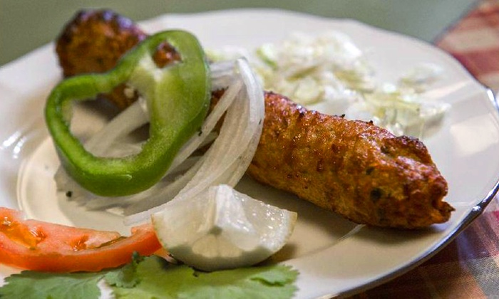 Kabob-n-Curry - Central Oklahoma City: $50 for a Pakistani / Indian Catering Package for Up to 15 People from Kabob-n-Curry ($105 Value)