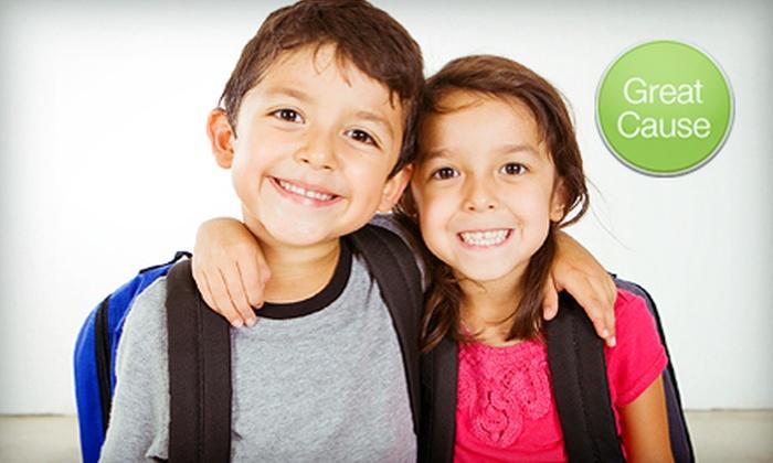 Child Abuse Prevention Association: $5 or $10 Donation for Backpacks for Kids