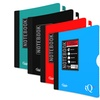 1-Subject College-Ruled Spine-Guard Notebooks (4-Pack)