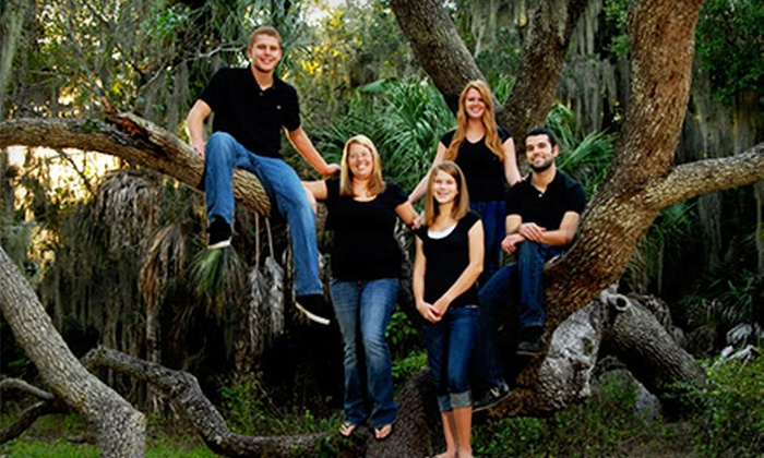 Thomas C. Smith Photography - Tampa Bay Area: $59 for an On-Location Family Portrait Package from Thomas C. Smith Photography ($237 Value)