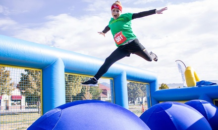 Hit and Run 5K Obstacle-Course Entry for One or Two on Saturday, May 17, at 9 a.m. (Up to 44% Off)