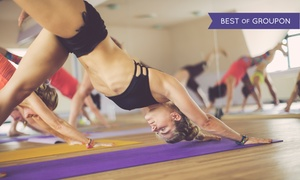 ISHTA Yoga: One Month of Unlimited Yoga Classes or 10 Classes at ISHTA Yoga (Up to 67% Off)