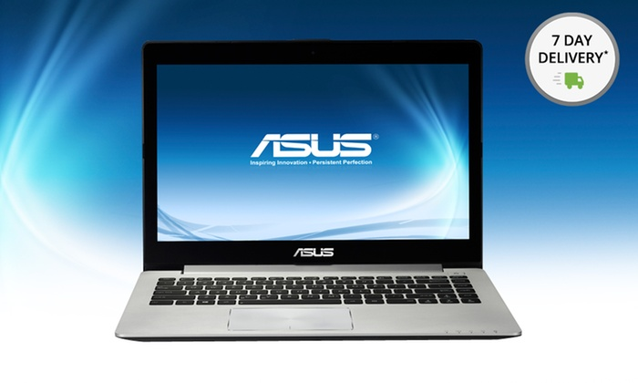 "ASUS 14"" VivoBook Touchscreen Ultrabook: ASUS 14"" VivoBook Touchscreen Ultrabook with 4GB RAM and a 500GB Hard Drive (S400CA-RSI5T18). Free Shipping and Returns."