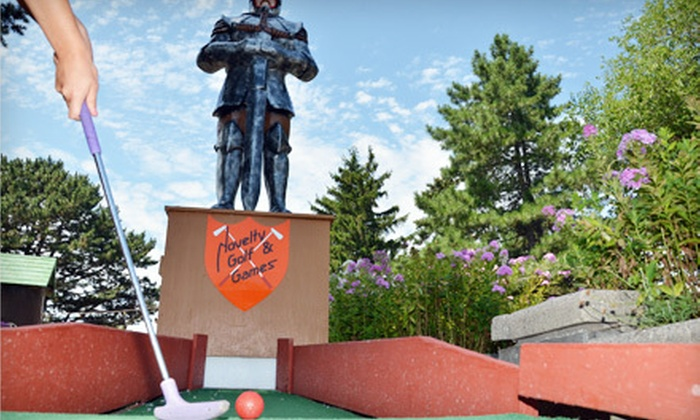 Novelty Golf & Games – AKA Bunny Hutch - Far North Side: Miniature Golf for Two or Four at Novelty Golf & Games – AKA Bunny Hutch (Up to Half Off)