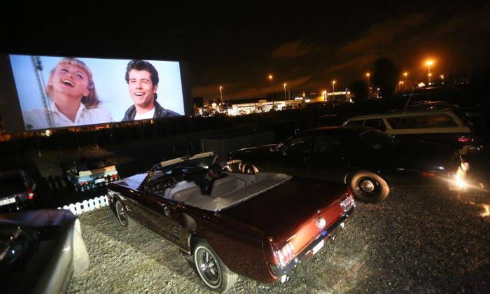 Cine al aire libre en Bilbao ¡igualito a los de las películas!