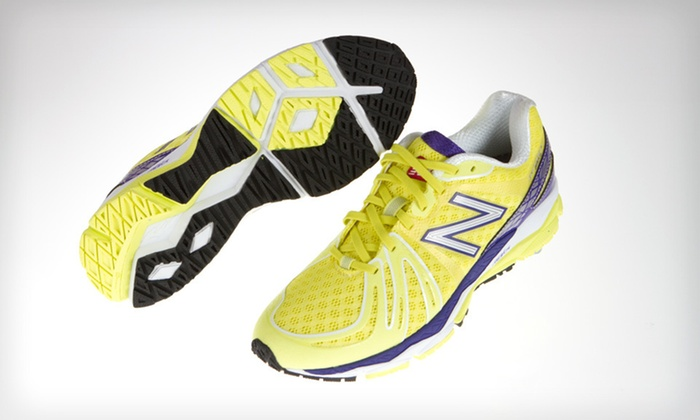 New Balance Women's 890 Sneakers: $69 for New Balance Women's 890 Sneakers in Yellow and Purple with Shipping Included ($117.94 Total Value). Five Sizes.
