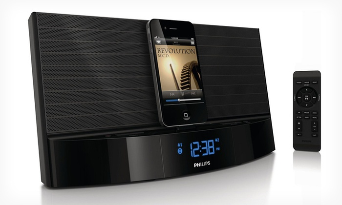 Philips Speaker Dock Clocks: $59.99 for a Philips Docking Clock Radio (Up to $99.99 List Price). Two Options Available. Free Shipping and Returns.