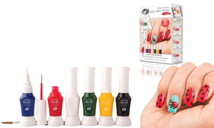 Rio Nail Studio 2 Nail Art Sets Groupon Goods