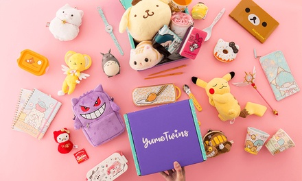 $25 for OneMonth Kawaii Box Subscription from YumeTwins Up to $51.81 Value