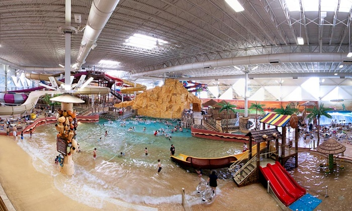 Kalahari Resorts - Wisconsin Dells: 1- or 2-Night Stay for Four in a Hut Room with Theme-Park Passes at Kalahari Resorts in the Wisconsin Dells