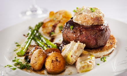 Steak, Seafood, and Drinks for Two or Four at 386, A Fusion of Fine Eating (Up to 44% Off)