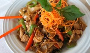 Tom Yum Thai Restaurant: Thai Food for Two at Tom Yum Thai Restaurant (Up to 44% Off). Two Options Available.