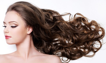 Haircut with Conditioning and Optional Highlights, or a Keratin Treatment at Rebecca McCrory Hair Design (Up to 61% Off)