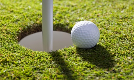 Up to 55% Off 18 holes for 2 or 4 with cart at Stones Throw Golf Course