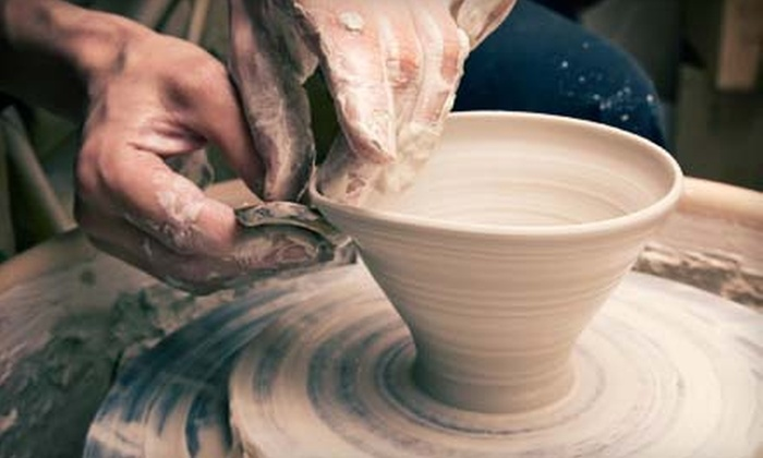 Clay - Downtown Long Beach: Wheel-Thrown Ceramics Class for One or Five at Clay in Long Beach (Up to 56% Off)