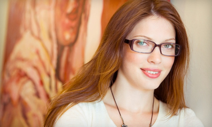 Factory Optical - Multiple Locations: $40 for $125 Toward Prescription Glasses, Plus Complimentary Second Pair, at Factory Optical