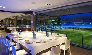 oferta: Brunch para dos personas con bebida, principal y postre desde 18 € en Real Café Bernabéu