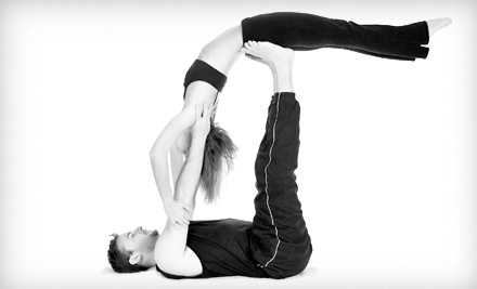 75-Minute Acro-Yoga Class for 1 Person (a $42 value) - Trapeze School New York in Chicago in Chicago