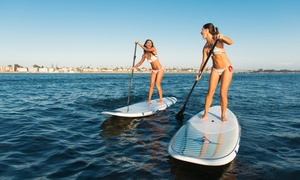 Hui Hui Stand Up Paddleboard: $39 for Two-Hour Paddleboard Rental For Two with Bracelets from Hui Hui Stand Up Paddleboard ($80 Value)