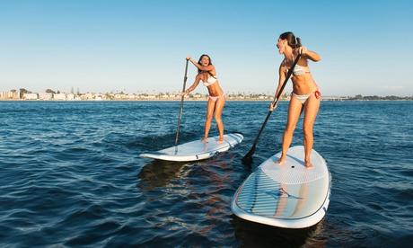Travesía de paddle surf para 1, 2 o 4 personas desde 9,95 € o curso de iniciación desde 14,95 €