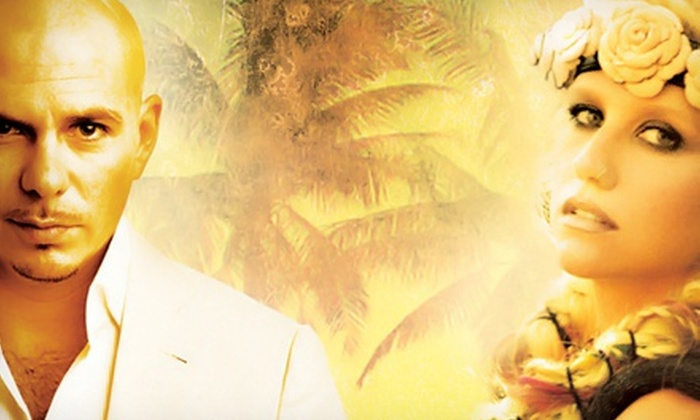 Pitbull & Ke$ha - Nikon at Jones Beach Theater: $20 to See Pitbull and Ke$ha at Nikon at Jones Beach Theater on Saturday, June 1, at 8 p.m. (Up to $33.75 Value)