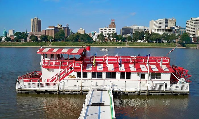 The Pride of the Susquehanna Riverboat - Harrisburg: Sightseeing Tour for Two or Four on The _Pride of the Susquehanna_ Riverboat (38% Off)