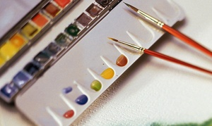 Watercolor with Aaron S. Bivins: BYOB Watercolor-Painting Class for One or Two at Watercolor with Aaron S. Bivins (Up to 45% Off)