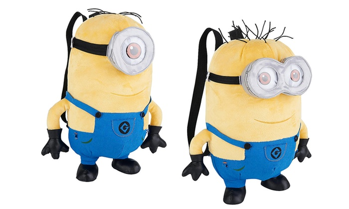 Despicable Me Plush Backpacks: Despicable Me Jerry or Stuart Plush Backpacks. Free Returns.