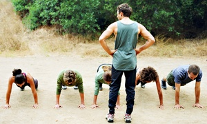The Basic Training Academy: $35 for One Month of Unlimited Boot-Camp Classes from Basic Training Academy ($150 Value)