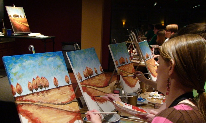 Tony Goodwin ART PARTY!! - Multiple Locations: Up to 44% Off Painting Classes at Tony Goodwin ART PARTY!!