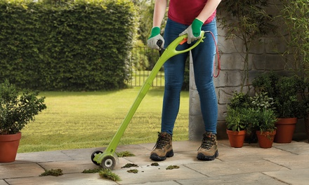 Electric Weed Sweeper with Optional Accessory Pack