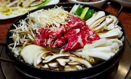 Korean Food at The Korea House (Up to 40% Off). Two Options Available.