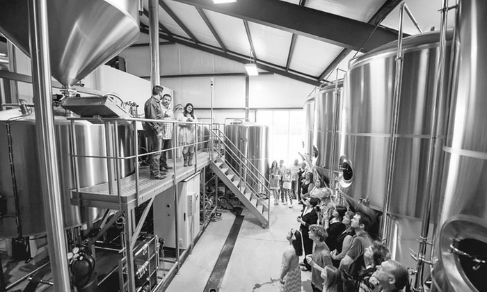 Nine Band Brewing - Allen: Saturday Brewery Tour for Two, Four, or Six at Nine Band Brewing
