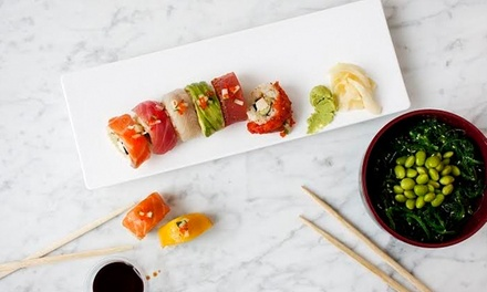 $10 for $20 Worth of Sushi and Asian Cuisine at Gaba Sushi