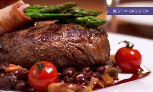 Thomas Restaurant: American Dinner for Two or Four with Appetizers, Entrees, and Drinks at Thomas Restaurant (Up to 46% Off)