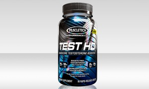 90-Count MuscleTech Test HD Hardcore Testosterone Booster