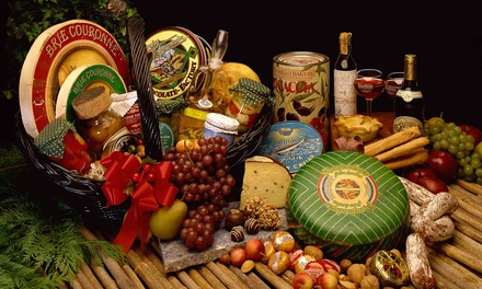 Custom Wine Gift Baskets at WineStyles Tasting Station (Up to 55% Off). Three Options Available.