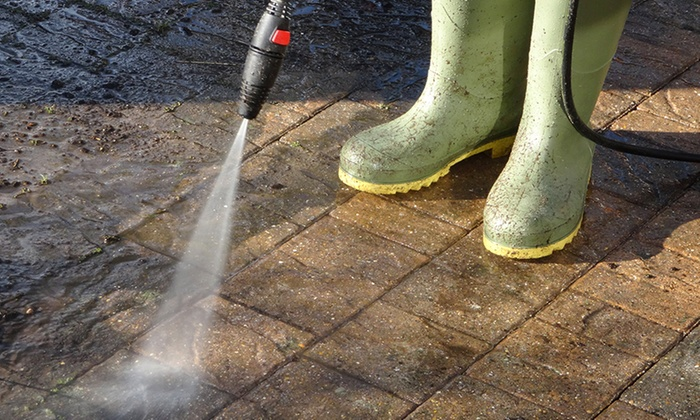 Lone Star Extreme Clean - Houston: Pressure Washing or Tile and Grout Cleaning with Lone Star Extreme Clean (51% Off). Two Options Available.