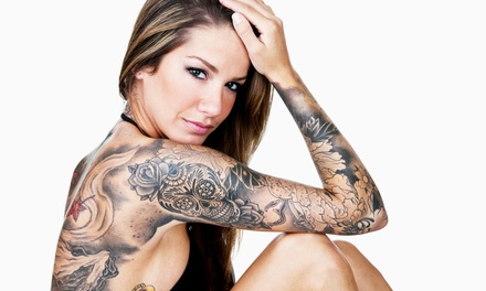 One or Three Hours of Custom Tattoo Work at Tattoolicious or Inkfamous (Up to 56% Off)