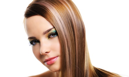 Haircut and Single Color for One or Two at Deja Vu (Up to 60% Off)