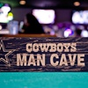 NFL Distressed Man Cave Sign